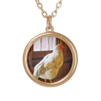 Pollo en granero grimpola personalizada