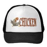 Pollo en un gorra