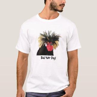 Pollo enrrollado - mún día del pelo playera