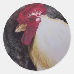 Pollo Etiquetas Redondas