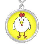Pollo feliz lindo joyerías