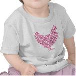 Pollo femenino bonito camisetas
