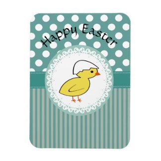 Pollo femenino de moda lindo del dibujo animado de iman de vinilo