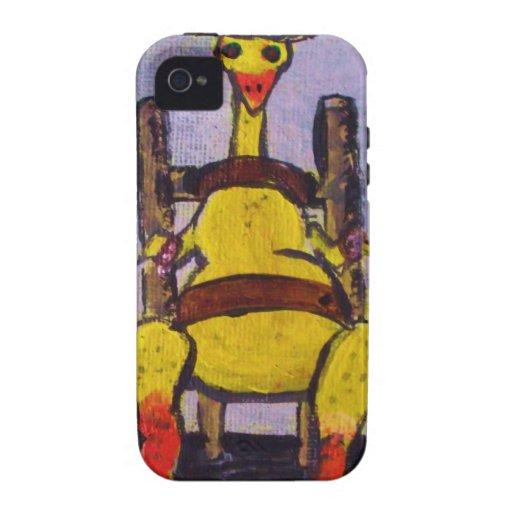 Pollo frito Case-Mate iPhone 4 carcasa