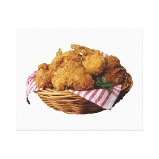 Pollo frito lona envuelta para galerias