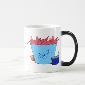 POLLO FRITO TAZA DE CAFÉ