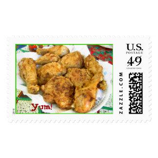 ¡Pollo frito, Yum! Sello Postal