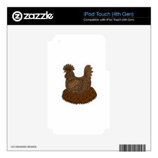 Pollo iPod Touch 4G Skin