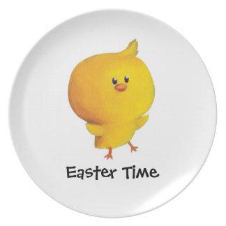 Pollo lindo de Pascua Plato De Comida