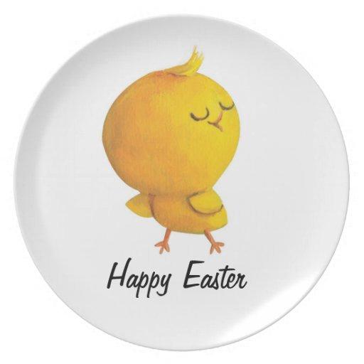 Pollo lindo de Pascua Platos
