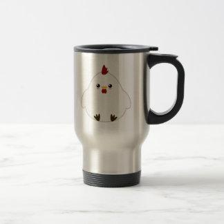 Pollo lindo taza de café