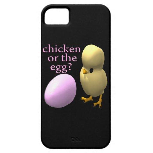 Pollo o el huevo funda para iPhone SE/5/5s