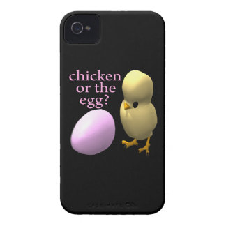 Pollo o el huevo iPhone 4 Case-Mate cobertura