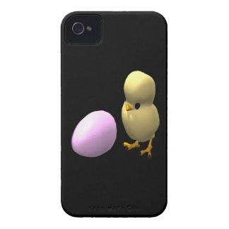 Pollo o el huevo iPhone 4 Case-Mate coberturas