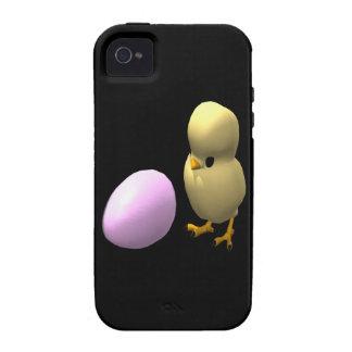 Pollo o el huevo iPhone 4 fundas