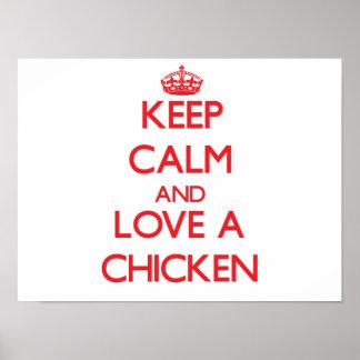 Pollo Impresiones