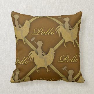 Pollo Players Throw Pillow