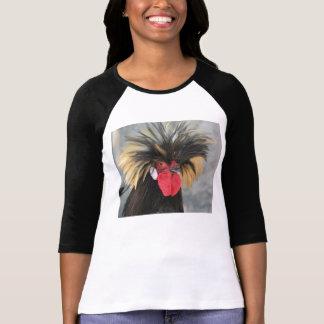 Pollo polaco enrrollado camisetas