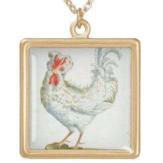 Pollo Rizado-Haired, c.1767-76 (en coloreado mano Pendientes