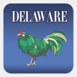 Pollo verde de Delaware Colcomania Cuadrada