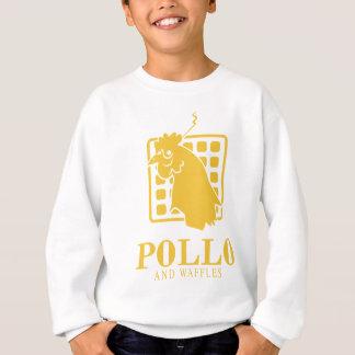 Pollo-waffle-clr Sweatshirt