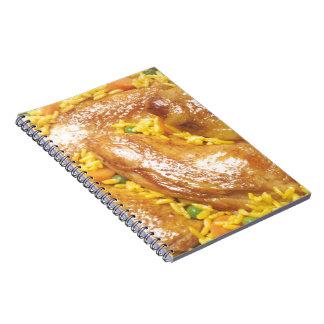 Pollo y arroz cuadernos