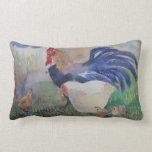 Pollo y cita almohadas