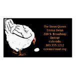 Pollo y huevo del grabar en madera del Victorian Tarjetas De Visita