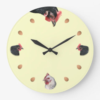 Pollo y huevo relojes