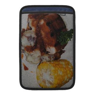 Pollo y maíz de la barbacoa fundas MacBook