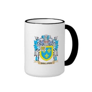 Pollock Coat of Arms - Family Crest Ringer Coffee Mug