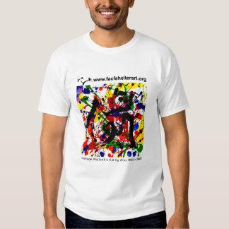 Pollock's Cat T-Shirt