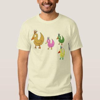 pollos camisas