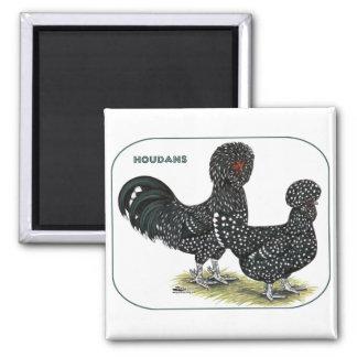 Pollos de Houdan Iman