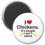 Pollos I (del corazón) Imán