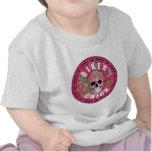 Polluelo 001 del motorista camisetas