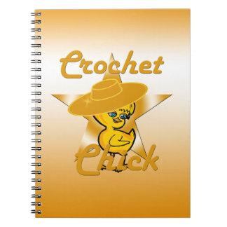 Polluelo #10 del ganchillo spiral notebooks