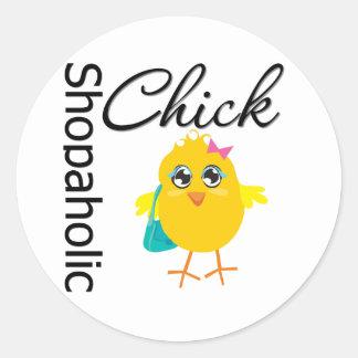 Polluelo 1 de Shopaholic Etiquetas