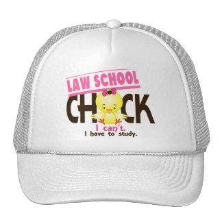 Polluelo 1 del colegio de abogados gorras