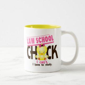 Polluelo 1 del colegio de abogados tazas de café