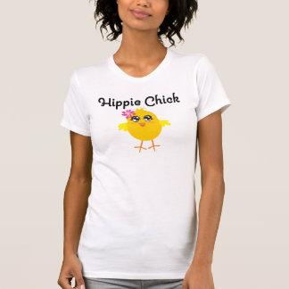 Polluelo 1 del Hippie Camisetas