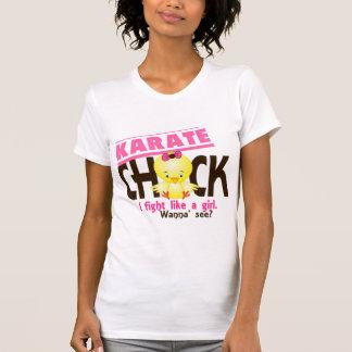 Polluelo 1 del karate camiseta