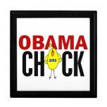 Polluelo 2012 de Obama Caja De Recuerdo
