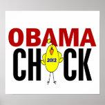 Polluelo 2012 de Obama Posters