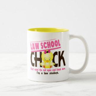 Polluelo 2 del colegio de abogados taza