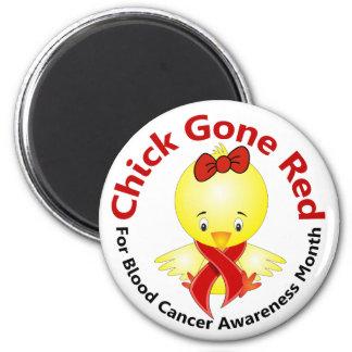 Polluelo 2 del mes de la conciencia del cáncer de  imán