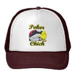 Polluelo #2 del póker gorras de camionero