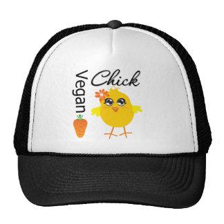 Polluelo 2 del vegano gorras