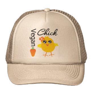 Polluelo 2 del vegano gorras de camionero