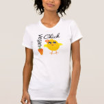 Polluelo 2 del vegano playera